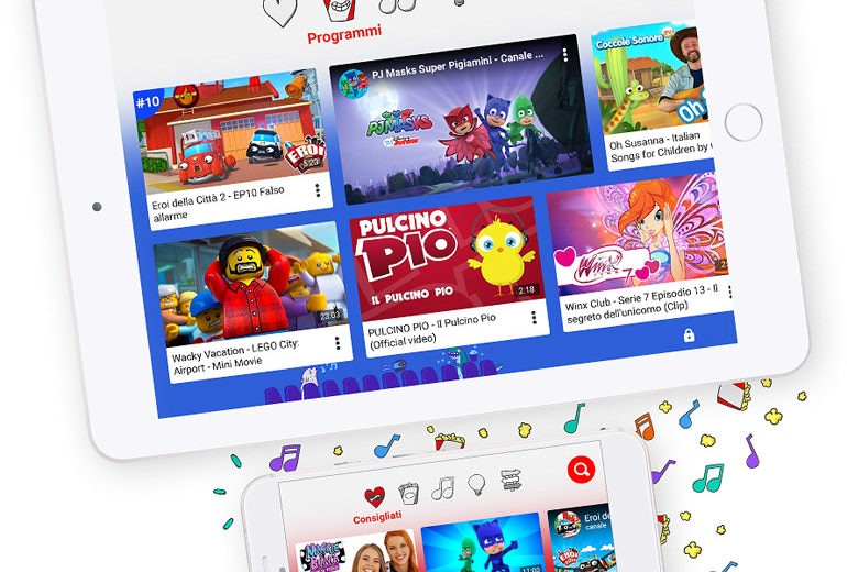 YouTube Kids arriva in Italia: cos'è e come funziona