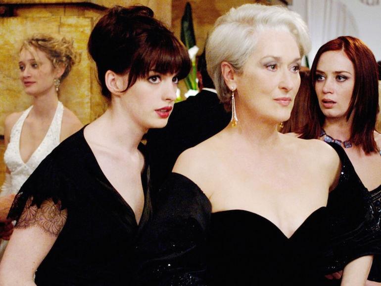 Anna Hathaway vestito nero