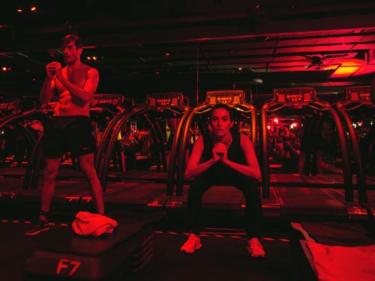 Barry s Bootcamp Milano via Senato 36 Giulia Valentina Influencer allenamento high intensity celeb workout (6)