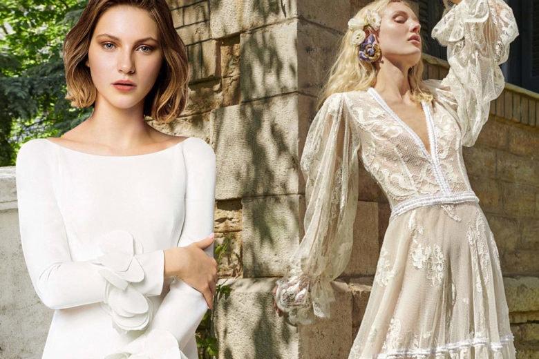 Abiti da sposa a maniche lunghe: i trend del momento