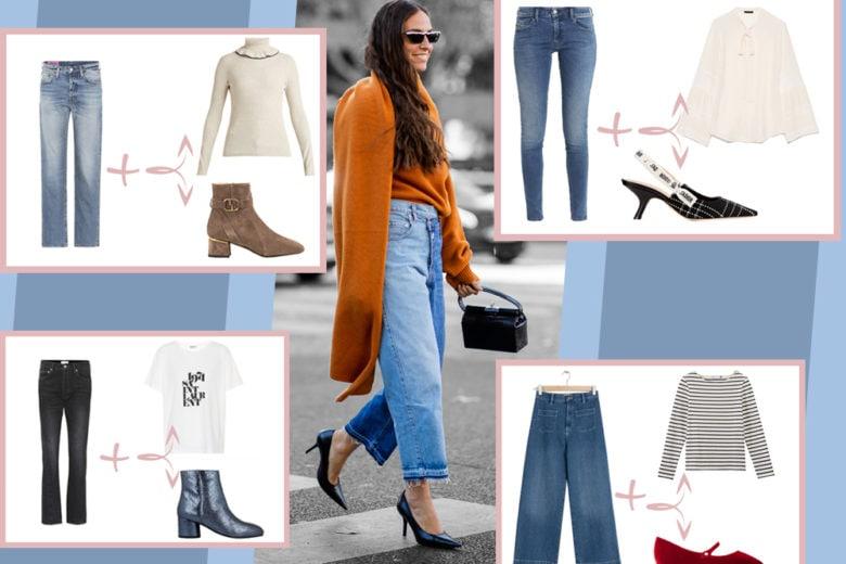 Come abbinare i jeans in autunno: 5 idee look da copiare subito
