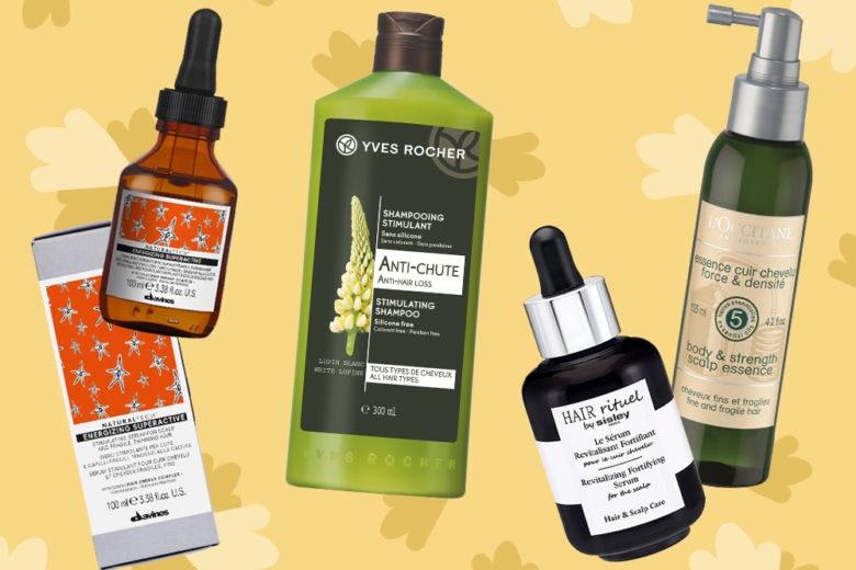 I prodotti per rinforzare la cute dei capelli