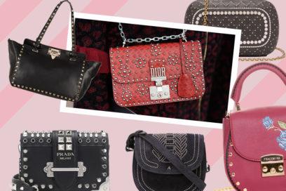 Studded it-bags: le borse con borchie per l'Autunno/Inverno 2018-2019