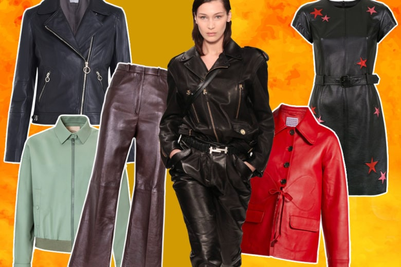 """Total Leather"": 15 capi per un look rock chic"
