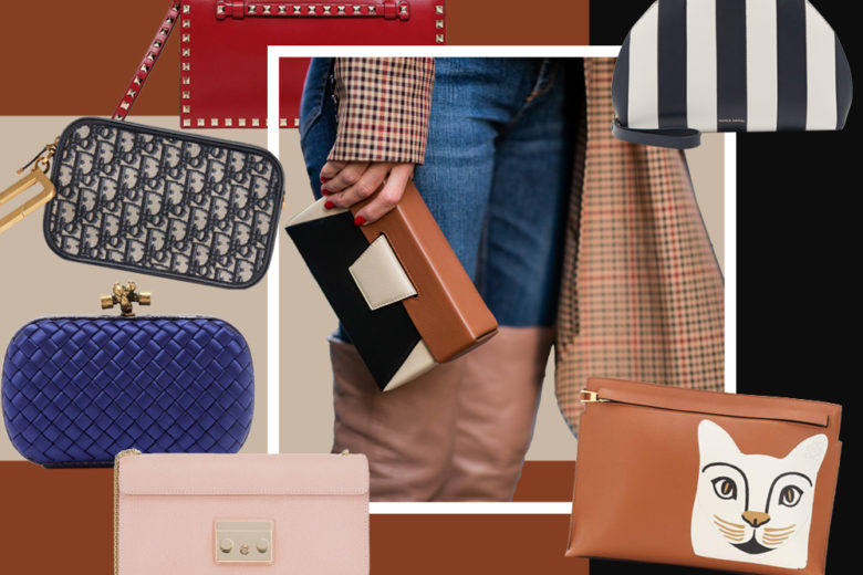 Clutch e pochette: i modelli più glam dell'autunno-inverno