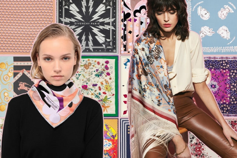 Per essere chic la parola d'ordine è una: foulard!