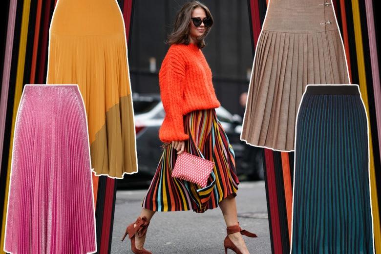 Gonne plissé: le versioni perfette per dare un twist a ogni look