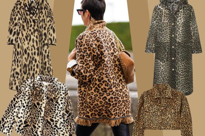 L'autunno inverno è wild con giacche e cappotti animalier!