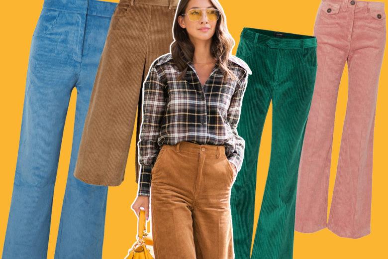 Pantaloni in velluto a coste: se ancora non ne avete un paio, è il momento di agire!