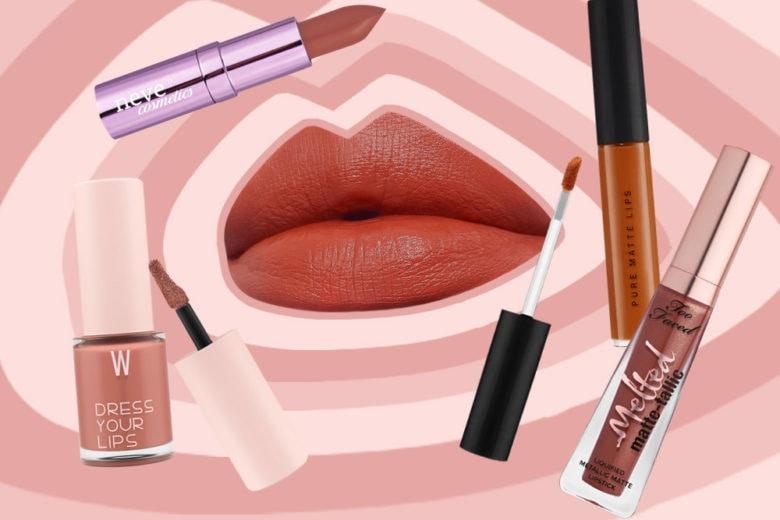 Rustic lips: i rossetti color ruggine, zucca e caramello per l'autunno