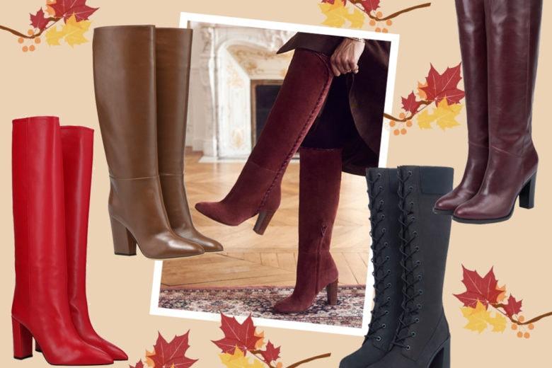 Stivali alti: 9 modelli da aggiungere subito in wish list!