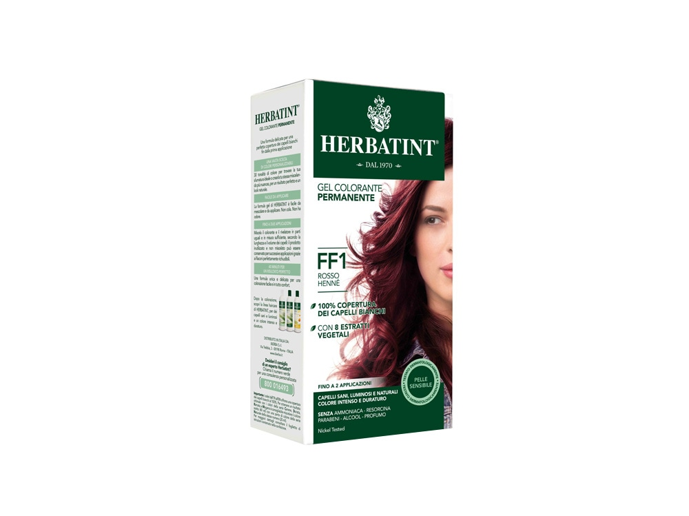 Herbatint_Gel Colorante Permanente_FF1_Rosso HennÇ