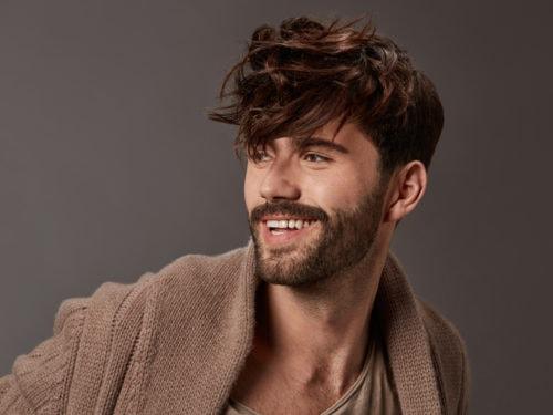 INTERMEDE tagli capelli uomo acconciature maschili saloni autunno inverno  2018 2019 ... c5adc804e393