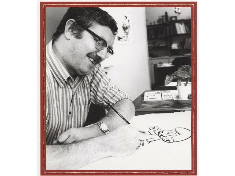 Il creatore dei Puffi Pierre Culliford in arte Peyo 60 anni dalla nascita dei Puffi