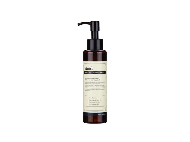 Klairs-Gentle-Black-Deep-Cleansing-Oil