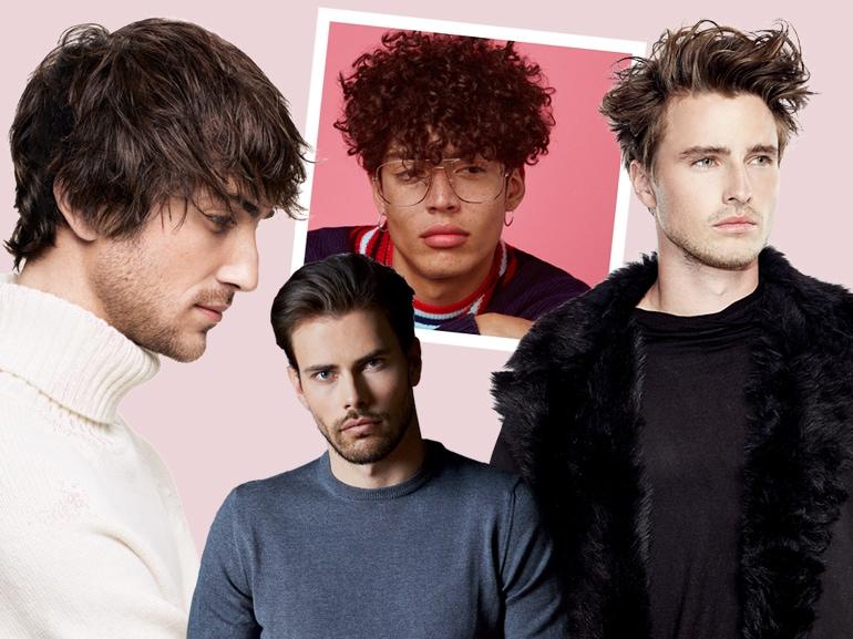 MOBILE tagli capelli uomo acconciature maschili saloni autunno inverno 2018 2019