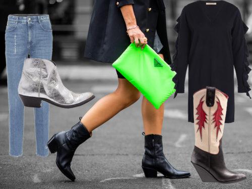 Stivali texani: come abbinarli per l'autunno inverno 2018