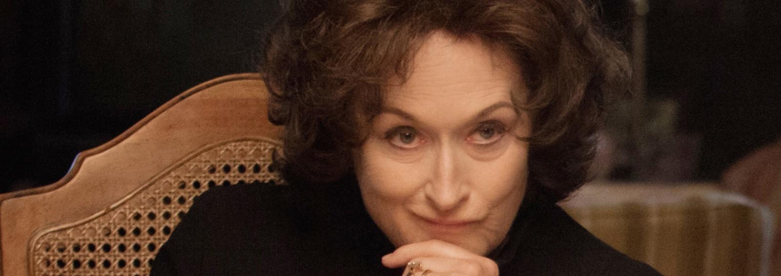 Meryl Streep capelli scuri