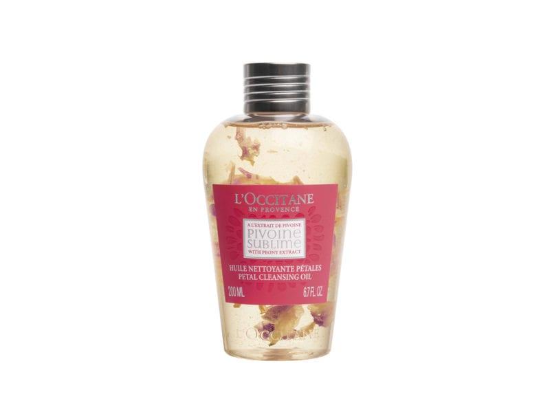Olio detergente petali di Peonia_L'Occitane