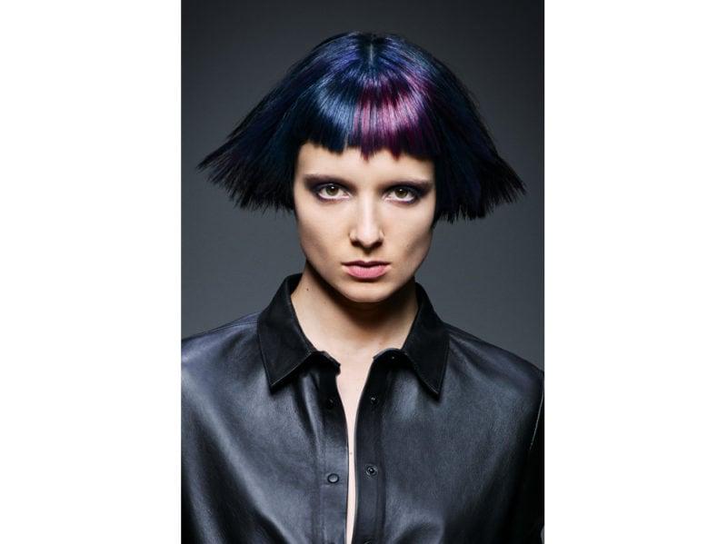 Schwarzkopf Professional stile frangia capelli saloni autunno inverno 2018 2019 (2)