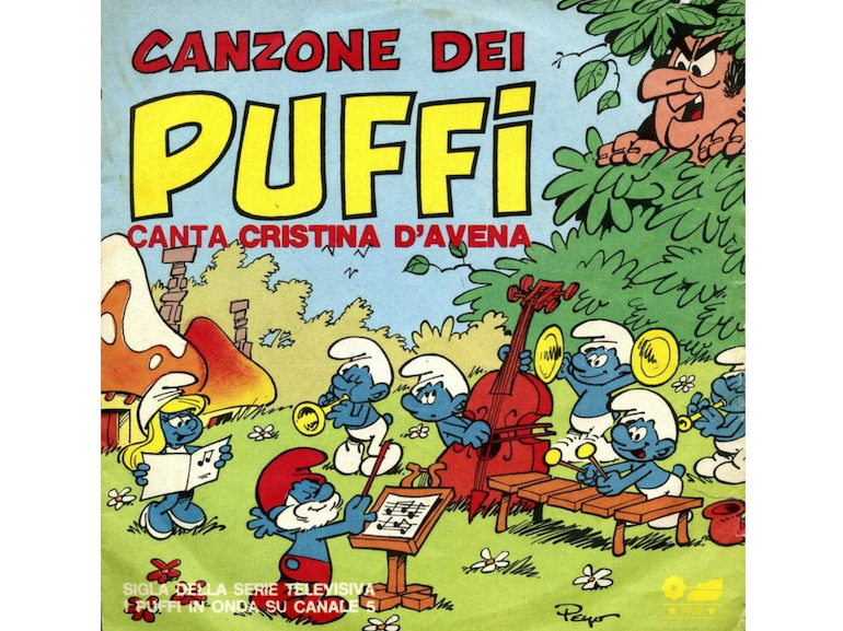 Sigla tv dei Puffi grande successo Cristina D Avena Five Records