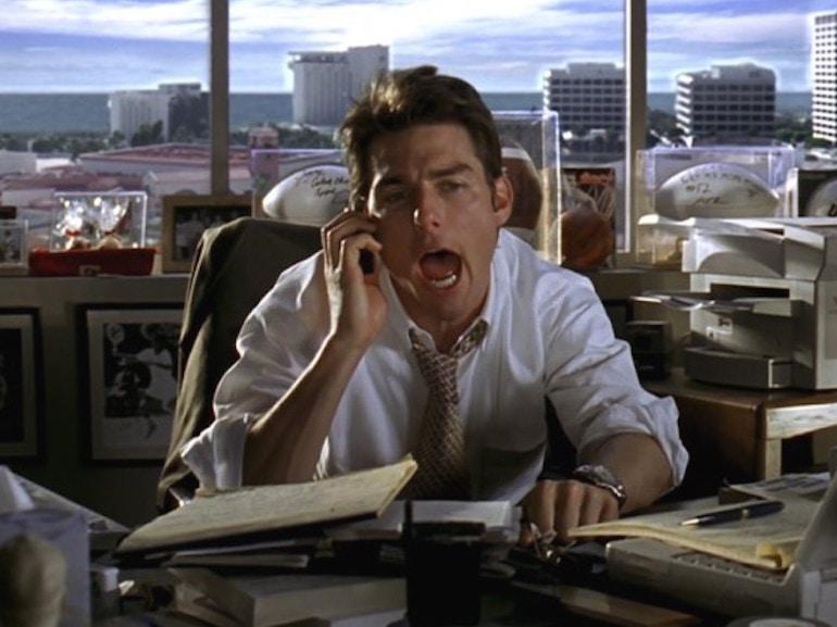 Tom Cruise scrivania