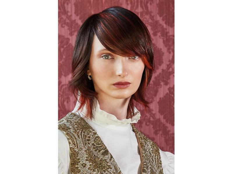 WELLA_MITU_AI_19_5 stile frangia capelli saloni autunno inverno 2018 2019