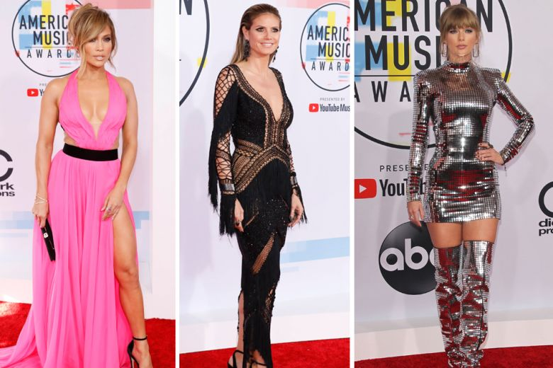 AMA 2018: i look di Taylor Swift, Camila Cabello e delle altre star agli American Music Awards