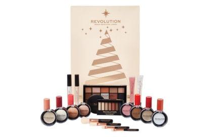 calendari-dell'avvento-bauty-2018-make-up-skin-care-profumi-natale-REVOLUTION-MAKE-UP