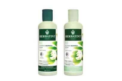 capelli-come-proteggerli- dai-danni-dellautunno-tra-vento-e-pioggia-Moringa Repair_Shampoo e Balsamo