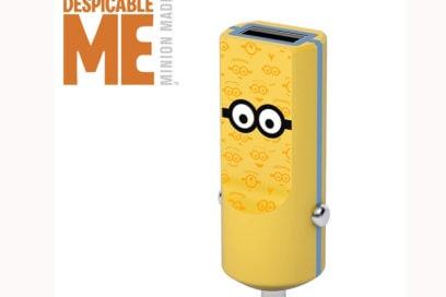 caricabatterie da auto minion