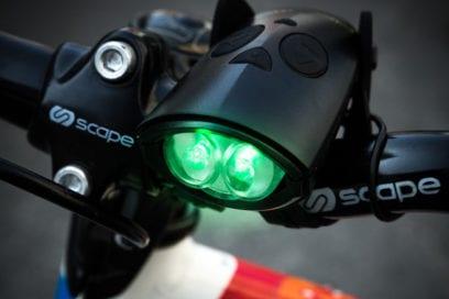 clacson per bicicletta con luce