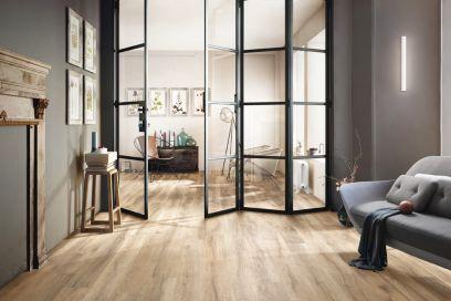 Grés porcellanato effetto legno: 5 motivi per preferirlo al parquet