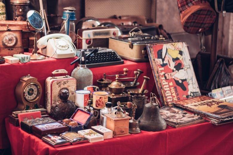 10 idee di arredamento vintage dal «Mercanteinfiera»