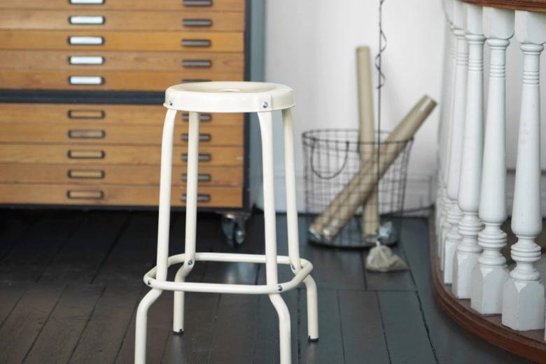 Sedia ecopelle bianca sgabello colori z dar sedie e sgabelli