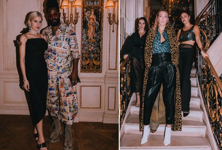 Mytheresa x Malone Souliers: la cena esclusiva a Parigi con Olivia Palermo, Caro Daur e le altre influencer!