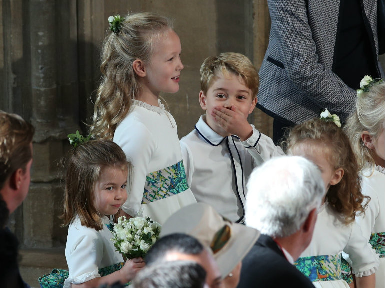 george e charlotte matrimonio eugenia