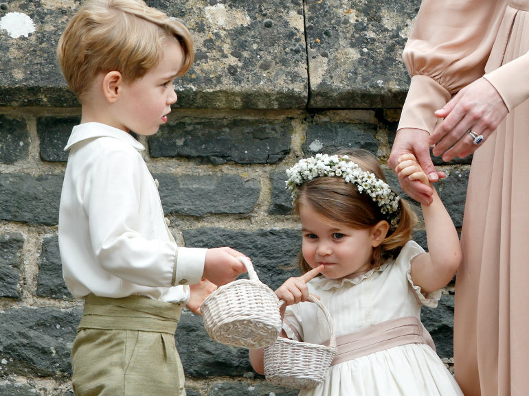 george e charlotte pippa