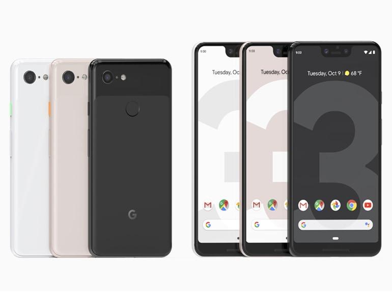 google pixel 3 colori