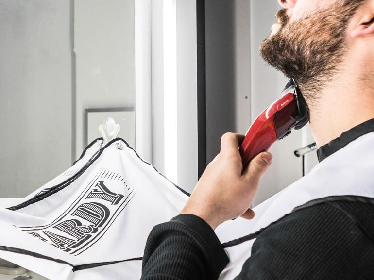 grembiule da barba