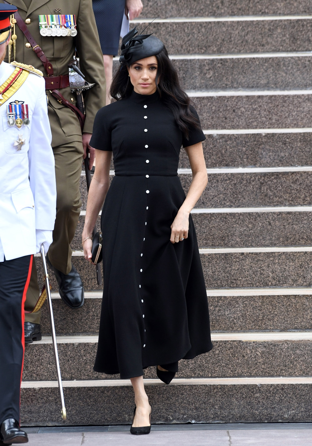 meghan-black-dress
