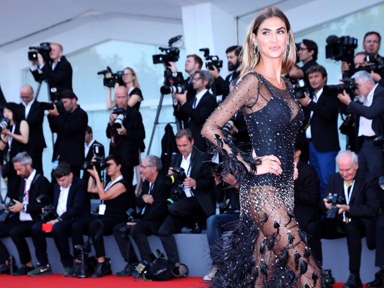 Roma Red Carpet Arrivals - 75th Venice Film Festival