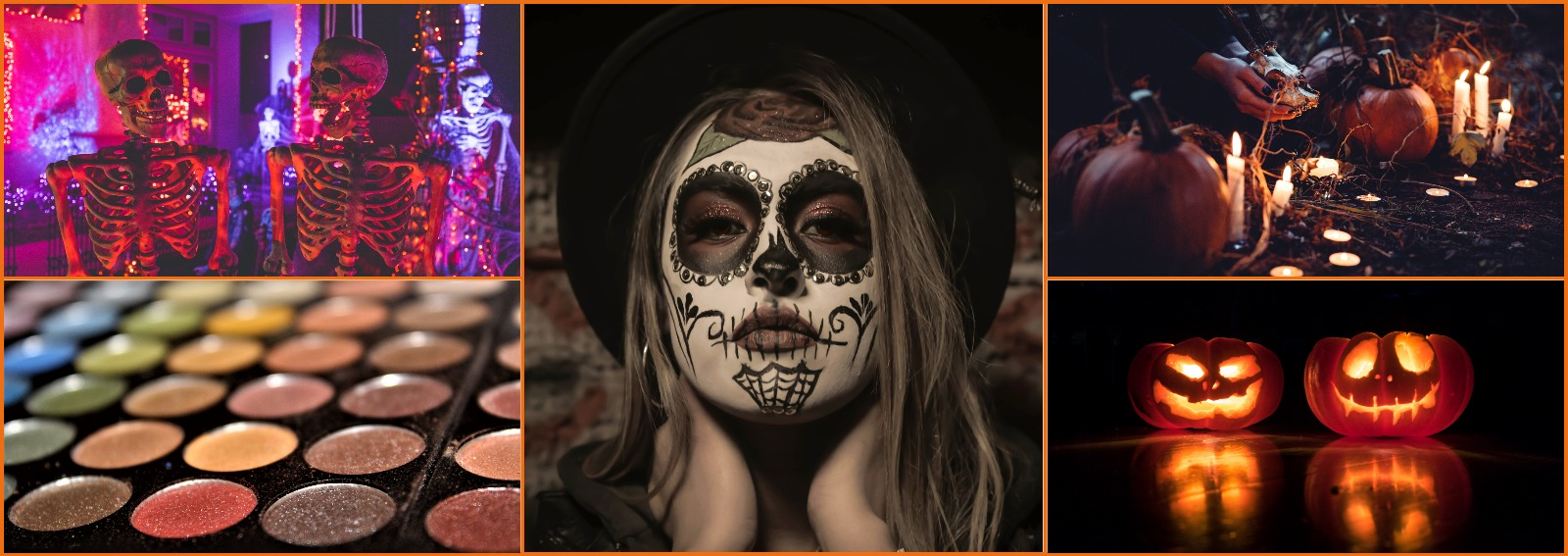 trucco halloween ragazza semplice spaventoso 2018 cover desktop