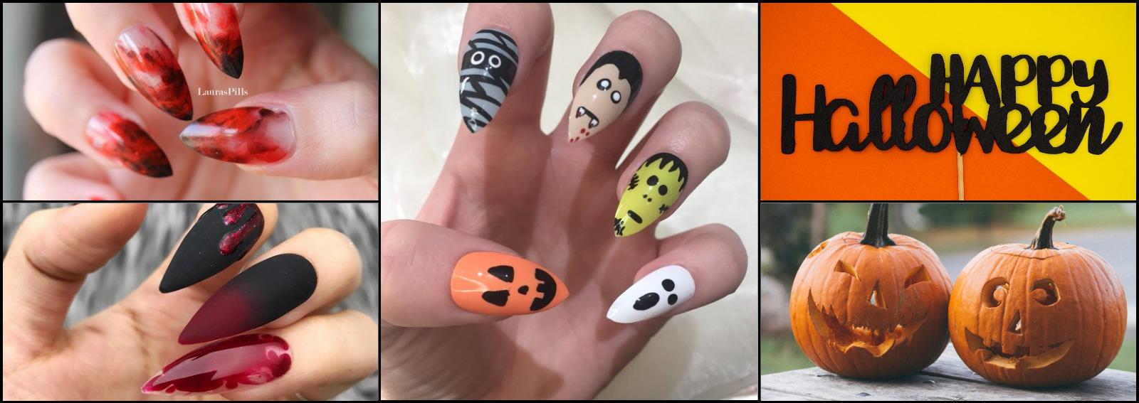 unghie halloween nail art idee 2018 manicure cover dekstop