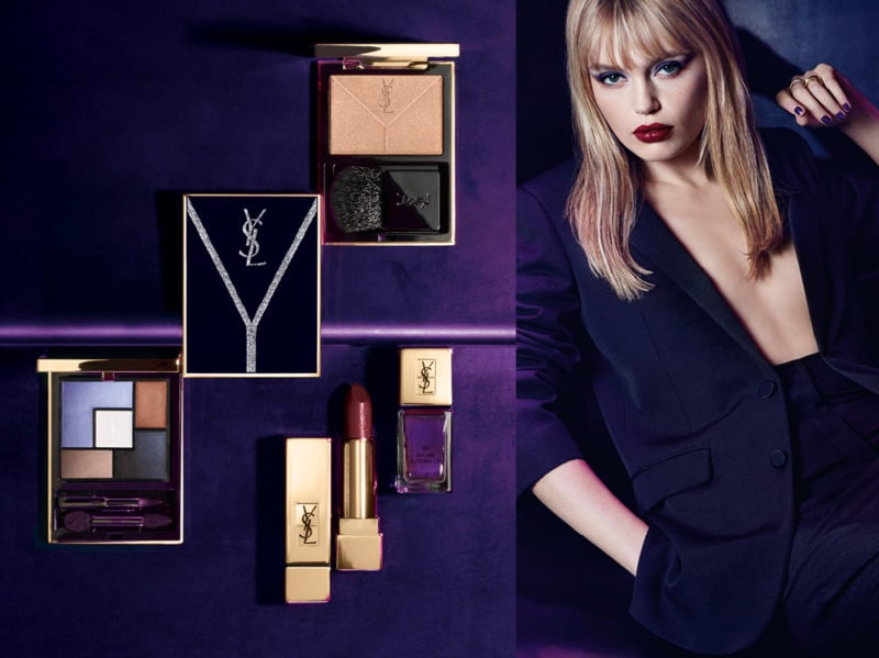 yves saint laurent collezione make up autunno inverno 2018 2019
