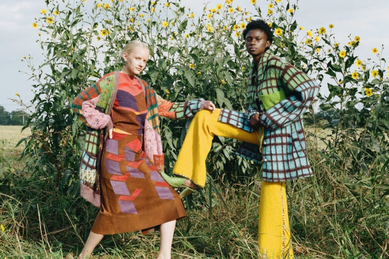 Fashion meets Art: la moda d'autunno tra colore e texture