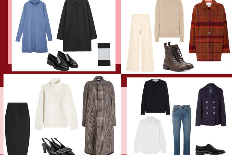 4 look mix & match per chi ama lo stile minimal