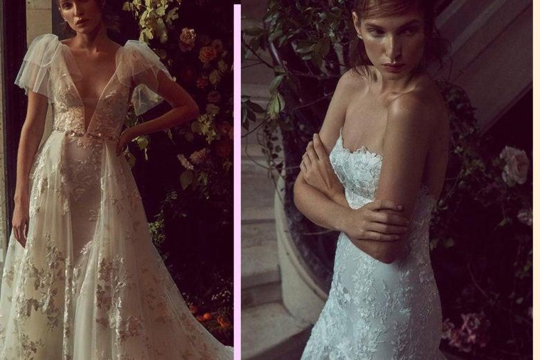 La collezione sposa Bliss di Monique Lhuillier