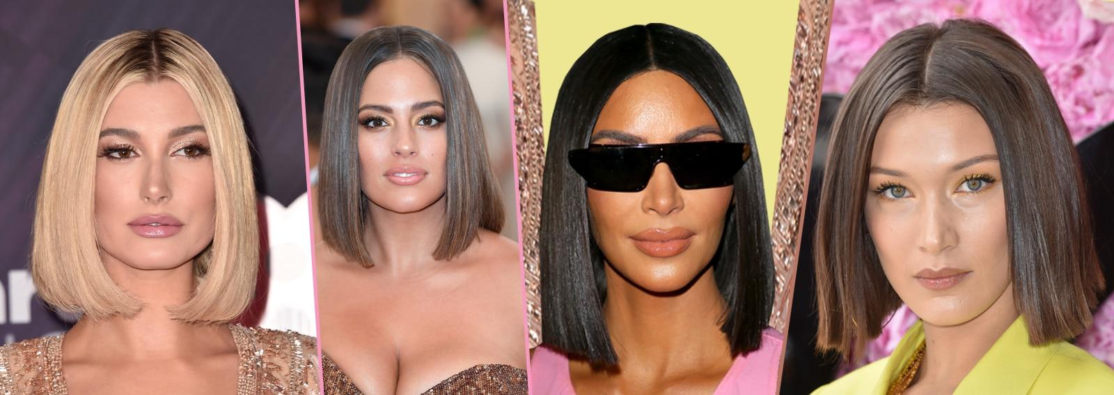 Glass hair: la tendenza dei capelli super lucidi a caschetto che ha conquistato le celebrity