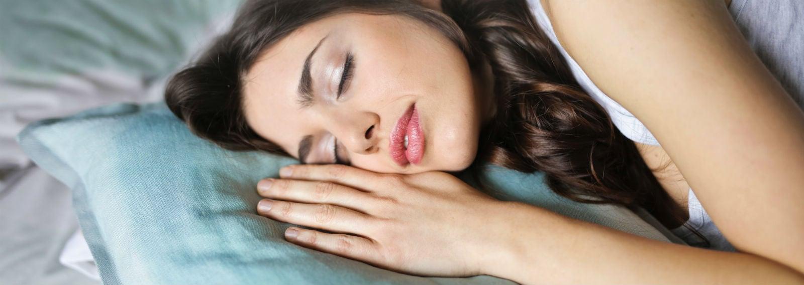 Donna sonno dormire (Cover desktop)